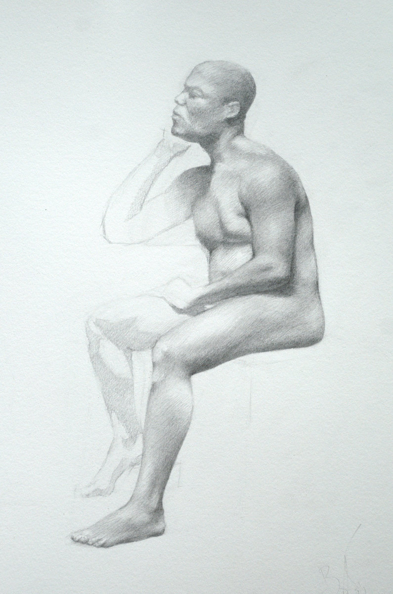 Graphite Drawing by Ben Rathbone