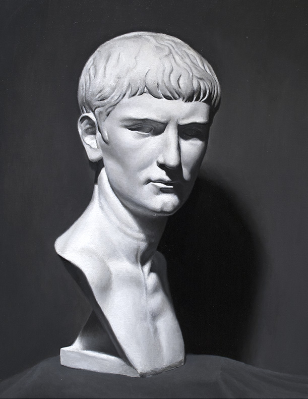 Grisaille Cast Study: Roman Youth