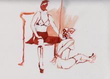 Watercolor by Ben Rathbone