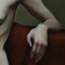 Detail of Color Figure Study: Laura