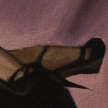 Detail of Painting: Michelle L'Amour II