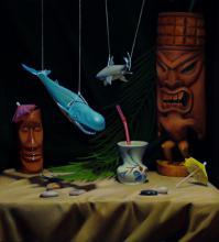 Painting: Tiki Time